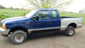 99 F250 Full part out. Needs injectors.