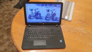 HP laptop barely used