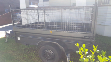 Trailer for hire with ramp 8ft by 5ft Granville Parramatta Area Preview