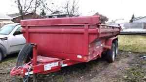 2015 Load Trail 14' king bed dump trailer