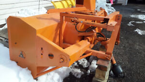 Tractor snowblower