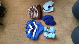0-12 month baby touque and mitts