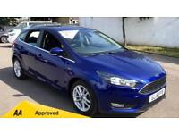 2015 Ford Focus 1.6 125 Zetec Powershift Automatic Petrol Hatchback