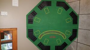 8 person poker table top Stratford Kitchener Area image 1
