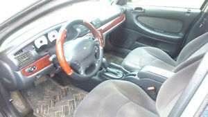 2002 Chrysler Sebring Silver Sedan
