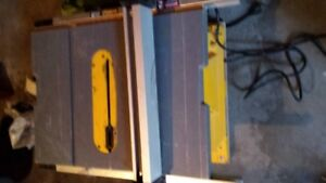 Used Dewalt table saw