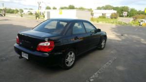 Subaru impreza rs 2005 manuelle