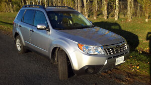 2012 Subaru Forester X Wagon with <18,000km