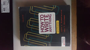 How to Write Anything a Guide and Reference 3rd Edition /w Read Kitchener / Waterloo Kitchener Area image 1