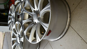 "Set of 17"" alloy rims 5x120 for GM West Island Greater Montréal image 2"