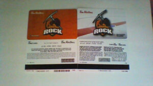 Looking For Timmins Rock Tim Horton Gift Cards With No Value