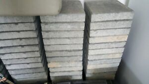 12 x 12 CEMENT BLACKS ABOUT 50 OF THEM CALL 519-673-9819