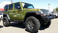 2010 JEEP WRANGLER SPORT MOUNTAIN EDITION LIFTED  & LOW LOW KMS