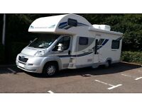 2012 Bailey Approach 760 with safari room and many extras