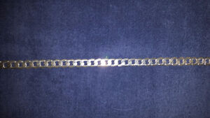 Heavy sterling silver mens chain St. John's Newfoundland image 2