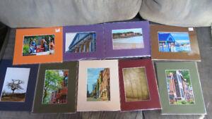 5x7 photos matted by Saint John artist Deb Humen