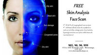 FREE FACE SCAN ANALYSIS/ NUTRITION FACIAL 45$ LASER HAIR REMOVAL