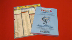 Painless French Book And A Quick Study Guide.