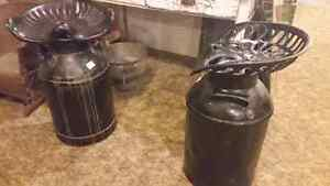 Milk can stools 80 each