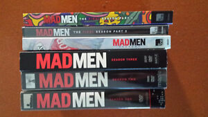 Mad Men All Seasons - Some not open
