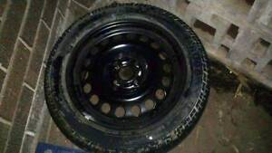 4x100 15 Inch Steel Wheel & Pirelli Tyre Mount Colah Hornsby Area Preview