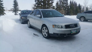 2002 Audi A4 1.8T B6 Auto parting out motor & Tranny