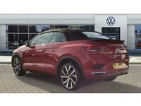 2021 Volkswagen T-Roc 1.5 TSI R-Line 2dr DSG Petrol Cabriolet Auto Cabriolet Pet