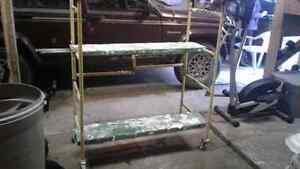 """MINI™ Folding Scaffold Step Ladder 39""""L x 21-1/2""""W x 46""""H!!"""
