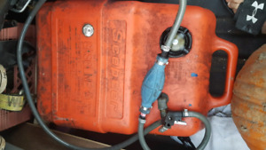 Gas tank full of fresh gas