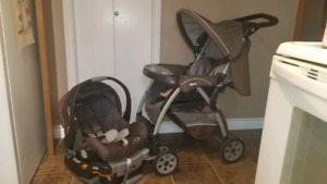 Chicco carseat and stoller
