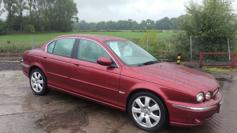 2005 my jaguar x type 3 0 awd v6 automatic petrol 4 door saloon in red in alloa. Black Bedroom Furniture Sets. Home Design Ideas