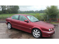2005 MY Jaguar X-TYPE 3.0 AWD V6 Automatic Petrol 4 Door Saloon in Red