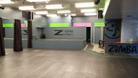 Studio Space available at Z-One Fitness!!!