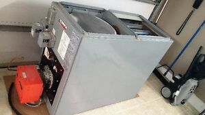 GREAT DEAL on oil fired furnace and all accessories A/C and tank