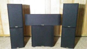 Paradigm 5.1 surround speakers - $150  (SOLD pending pickup)