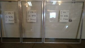 Windows 4Sale ideal for building a sunroom, greenhouse, deck.