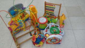(246) Baby developing toys from 5$ each