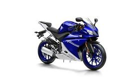 2017 YAMAHA YZF-R125 ABS RACE BLU ,*YAMAHA LOW RATE FINANCE AVAILABLE 0% APR O