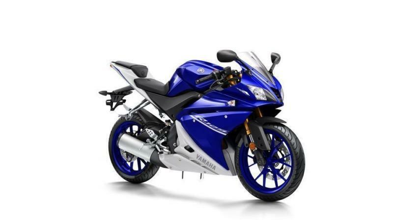 2017 YAMAHA YZF-R125 ABS RACE BLU ,*YAMAHA LOW