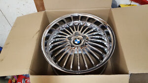 "Four 19"" Beyern Wheels For Sale - ""Multi"" Chrome Finish"