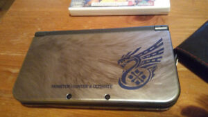New 3DS XL Monster Hunter 4 Ultimate Limited Edition + Games