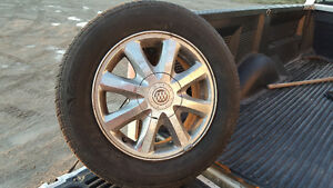 4 Gently Used All Season Tires & Rims