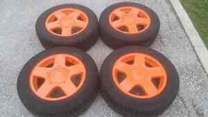 VW Jetta Golf Beetle winter tires with RIMS