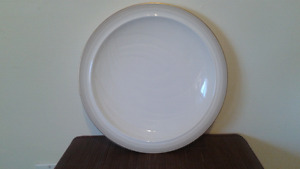 Royal Doulton serving dish with gold trim