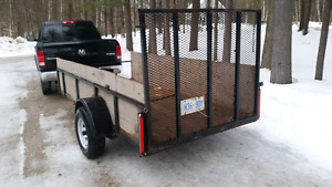 5 x 11 ft landscape trailer