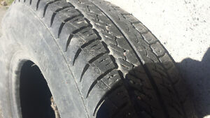 Set of 2 tires, P175 70R13, all season M+S rated
