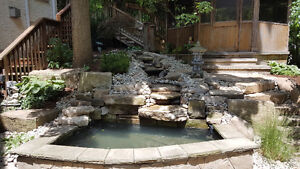 New Pond Install / New Water Feature Install London Ontario image 7