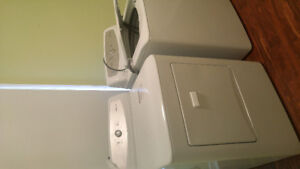 Like new Washer and Dryer!!! White side by side Matching