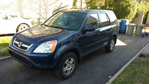 2004 Honda CR-V EX cuir/Leather