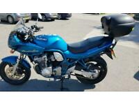 1997 P SUZUKI GSF600 SV BANDIT GSF 600 BLUE LOW MILES CLEAN HISTORY NEW MOT